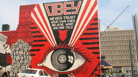 Obey Street Art