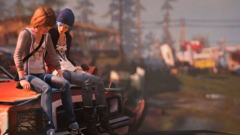 Life is Strange Chloe and Max screenshot