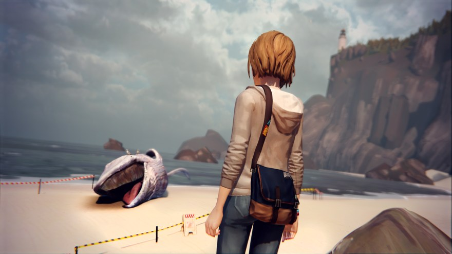 Life is Strange whale screenshot