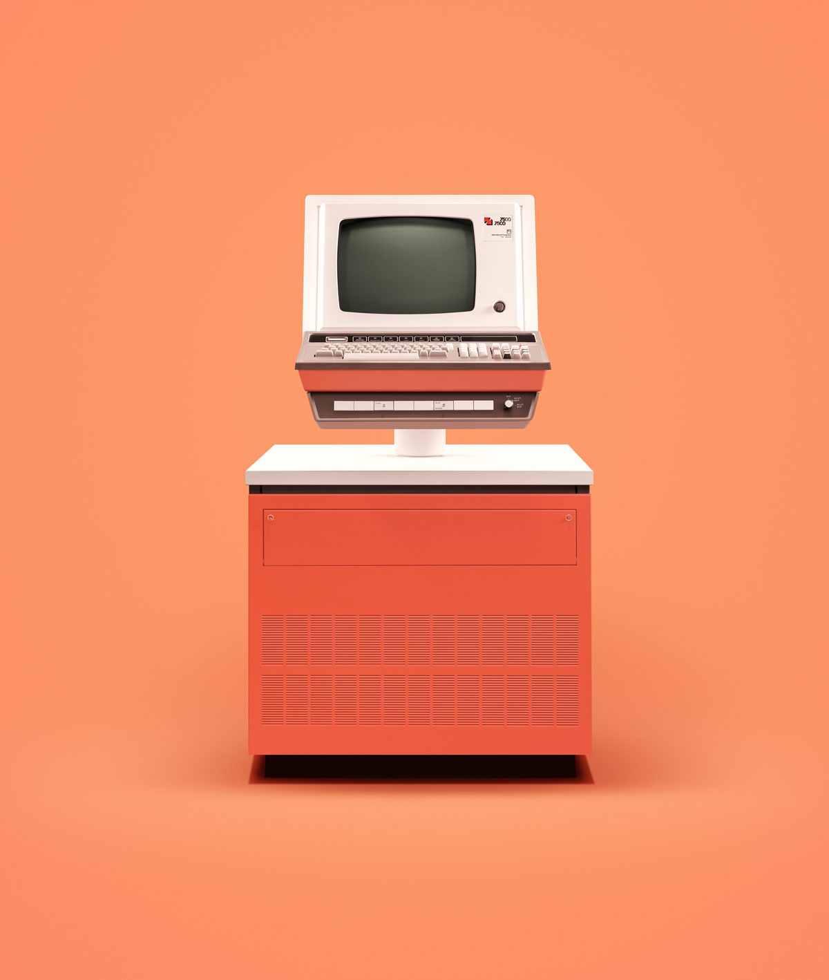 Old computers are made cool again in this photography