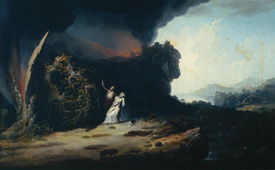 Thunderstorm with the Death of Amelia