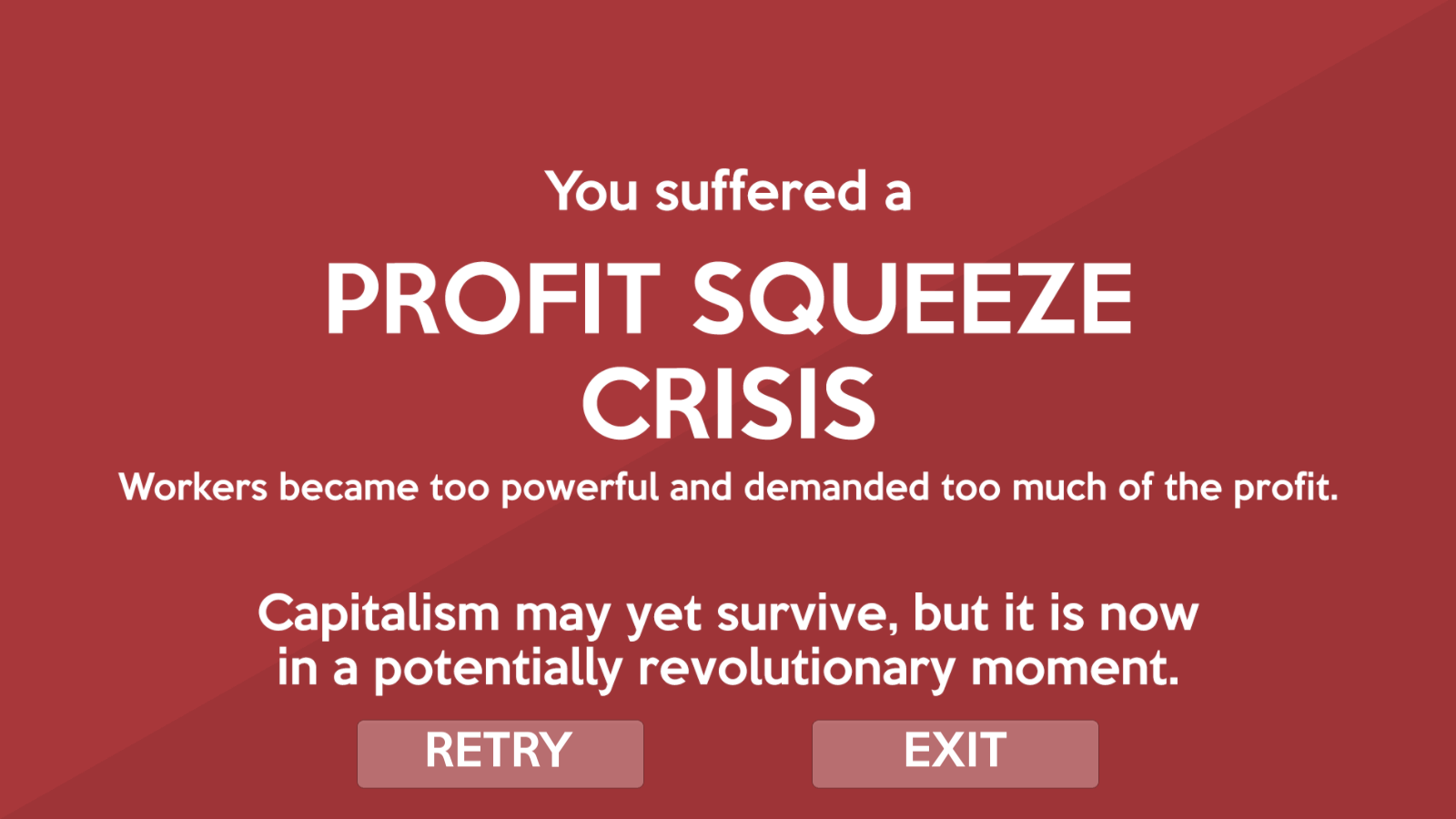 New videogame gives you a tough course in capitalist theory