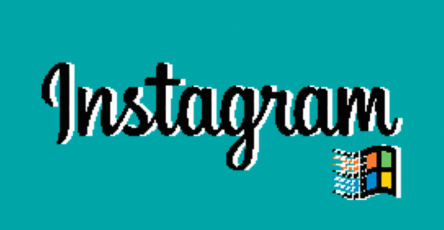 Instagram for Win95