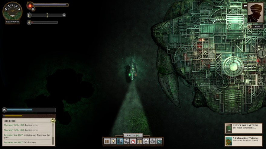 Sunless Sea Zubmariner