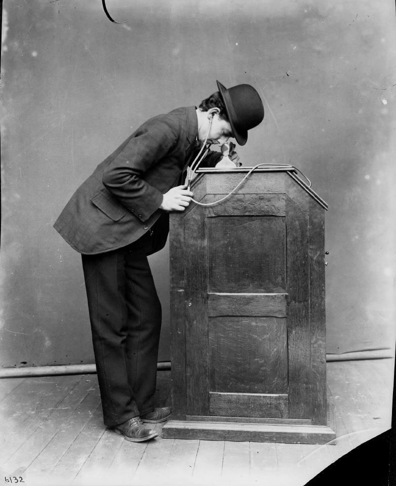 Thomas Edison and William Dickson's Phonokinetoscope, 1895