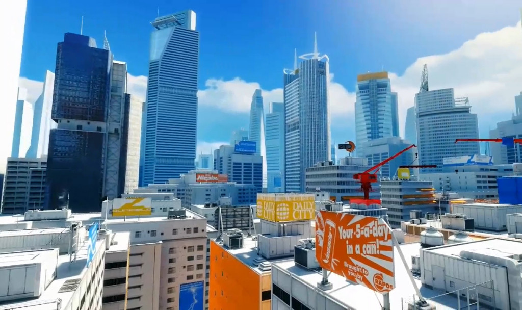 Mirror's Edge and its daytime dystopia