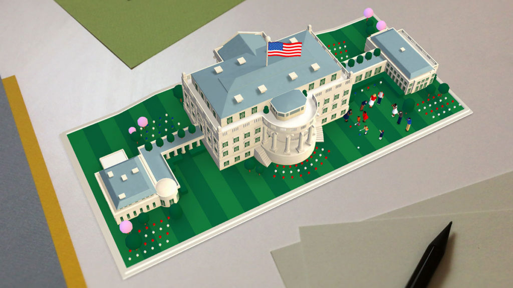 Learning history about the White House has been made cute, accessible, and interactive.