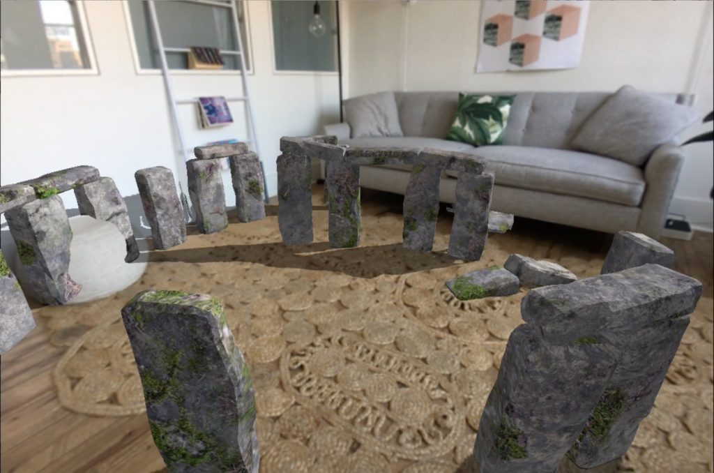 Save money on flights and just bring Stonehenge to your own apartment.