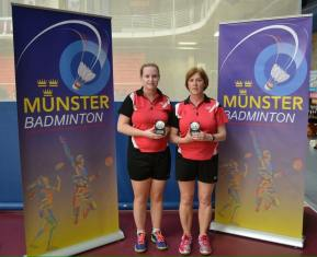 Well done to Carol and Edel who finished runners up in the Ladies G Munster event.