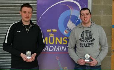 Well done to Garvan and Sean for coming runners up in the Men's grade E Munster event.
