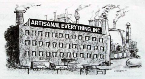 "New Yorker Cartoon ""Artisanal Everything Inc"""