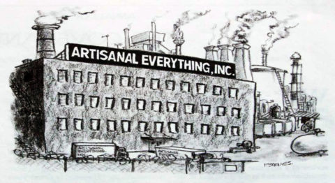 "New Yorker Cartoon ""Artisanal Everything Inc"""