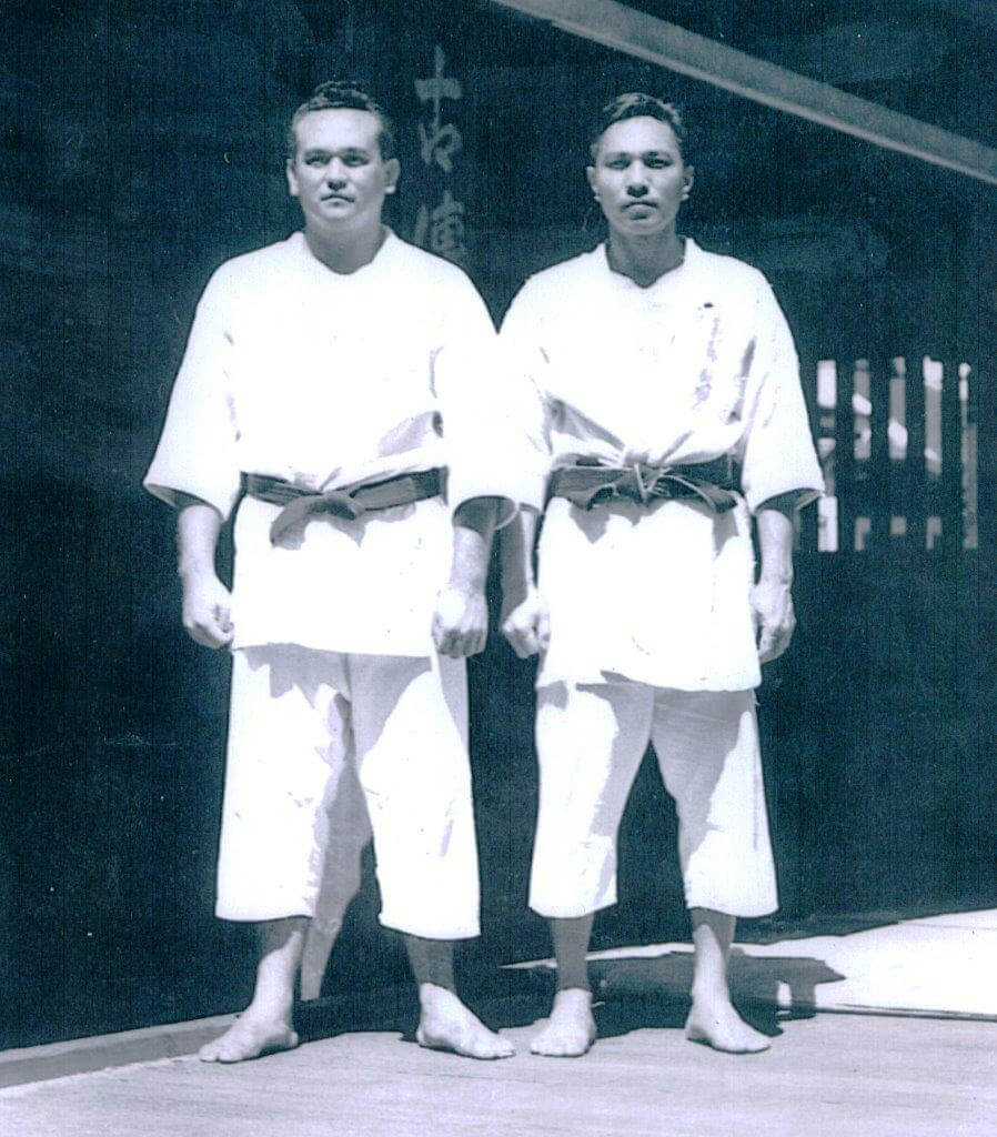 Prof. Kufferath and his Partner in Hawaii (1940s)