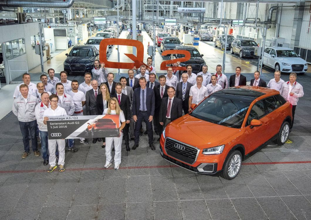 A small car makes a big impression:  the new Audi Q2