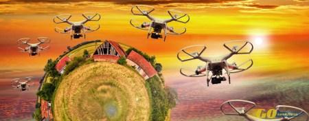 Drones autónomos