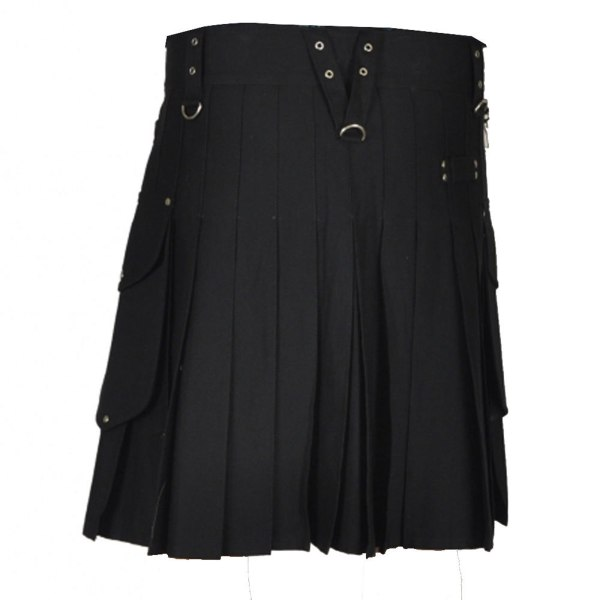 stylish-black-utility-kilt-back