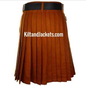 Scottish Tartan Irish Saffron Kilt 13-16 oz (1)