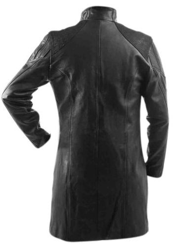 Adam Jensen coat mankind divided Deus Ex Human Revolution Game Leather Trench Coat Jacket (2)
