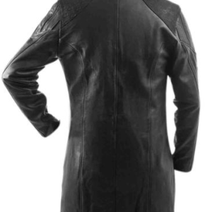 Adam Jensen coat mankind divided Deus Ex Human Revolution Game Leather Trench Coat Jacket