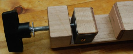 Bottom clamp fully assembled