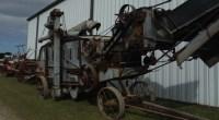 Crazy old farm equipment