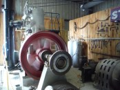 Look at that big flywheel go
