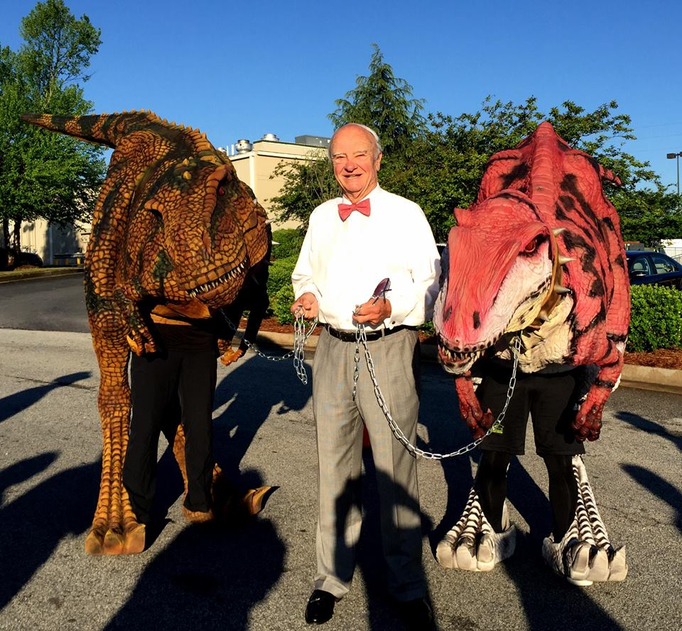 Mayor Copeland Dinosaurs