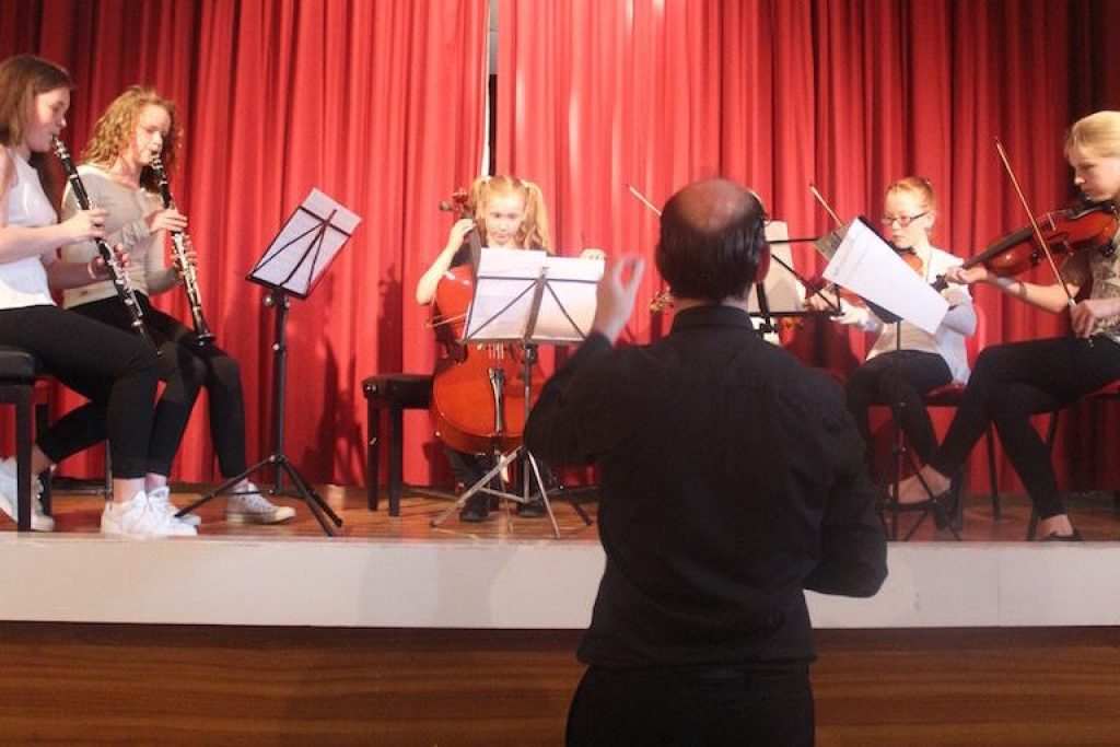 The Orchestra Players