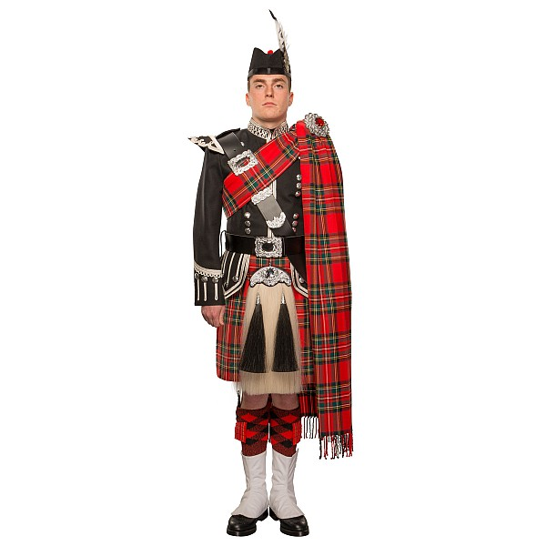 Full Dress Piper Outfit Regimental Heavyweight Kilts Amp More