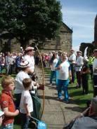 Queen's Baton and the Ancient Society of Kilwinning Archers