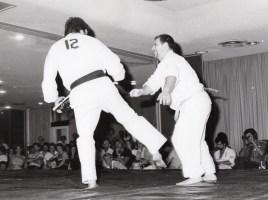 Shihan Howard fighting in a tournament
