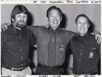 Howard Lipman, Bobby Lowe & Bob Boulton