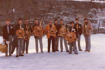 Shihan Howard and seniors in Japan