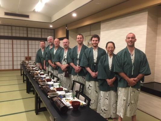 KIMAA at a Ryokan hotel in Yudanaka