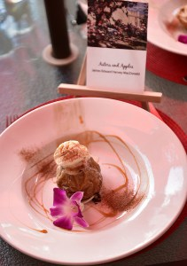 """Apple dessert based on """"Asters and Apples"""" by J. MacDonald"""