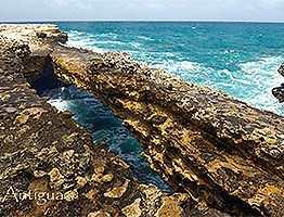 Devils Bridge, Antigua Postcard