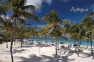 Long Bay, Antigua Postcard