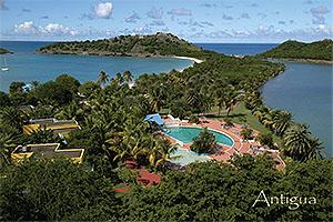 Deep bay Antigua Postcard