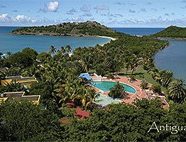 Deep bay Antigua Postcard