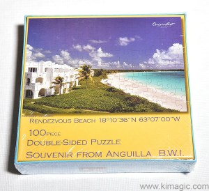 Double Sided Puzzle Anguilla by KiMAGIC