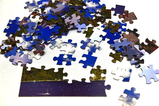 Double Sided Puzzle Saint Lucia by KiMAGIC
