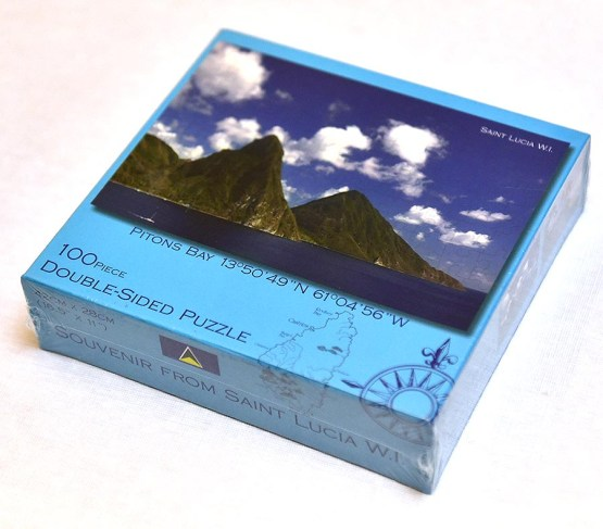 Double Sided Puzzle Saint Lucia