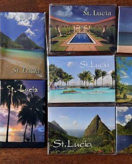 Caribbean Islands Fridge Magnets