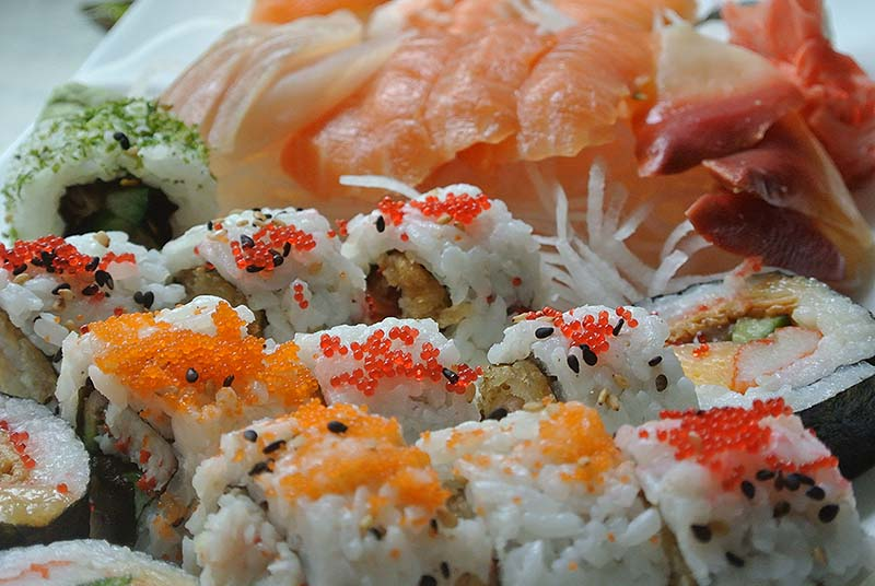 History of sushi in French