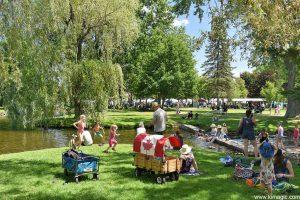 Summer time, Stewart Park, Perth, Ontario
