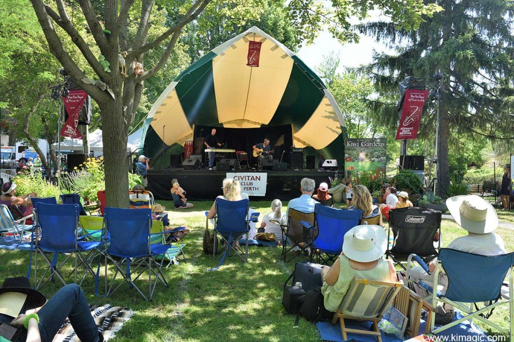 Stewart Park Music Festival, Perth, Ontario