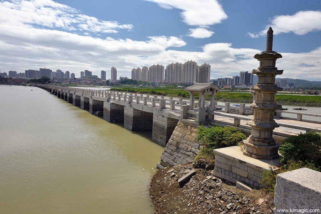 Luoyang Wan'an Bridge Quanzhou Fujian China