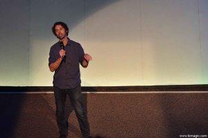 Ontario Science Centre, IMAX, Toronto-based filmmaker Michael Dalton-Smith presenting his movie