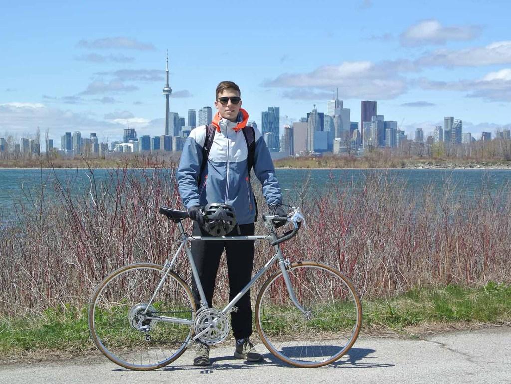 Biking, Tommy Thompson Park, Toronto