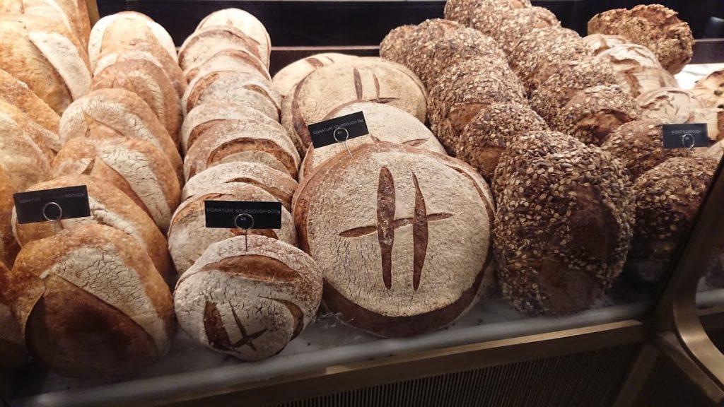 ハロッズのパン